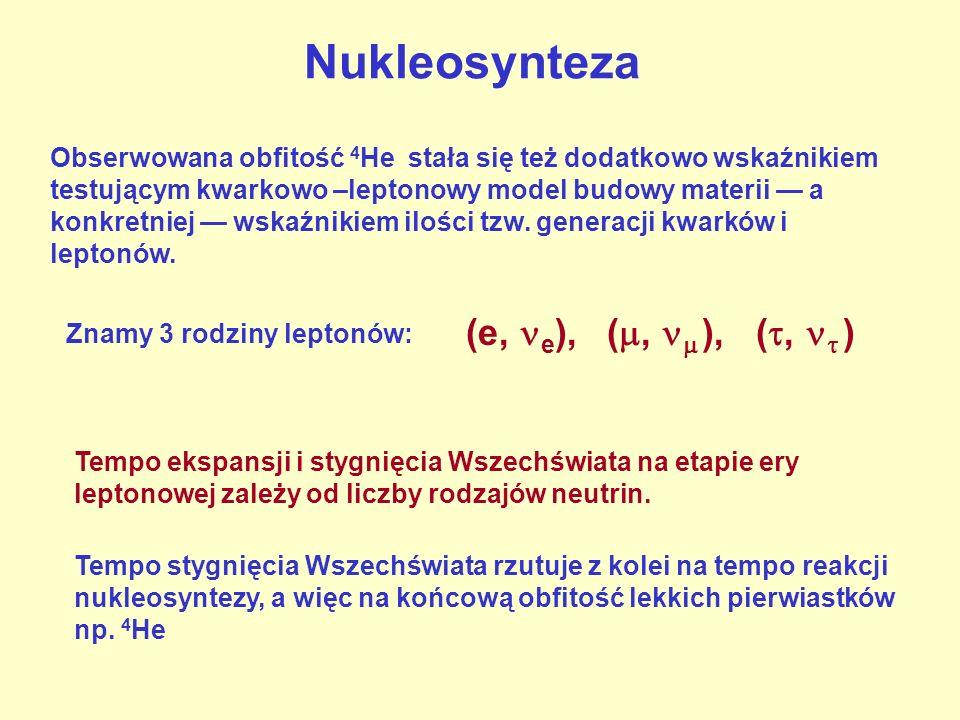 Nukleosynteza (e, e), (,  ), (,  )