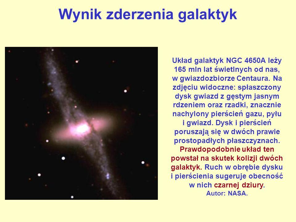 Wynik zderzenia galaktyk