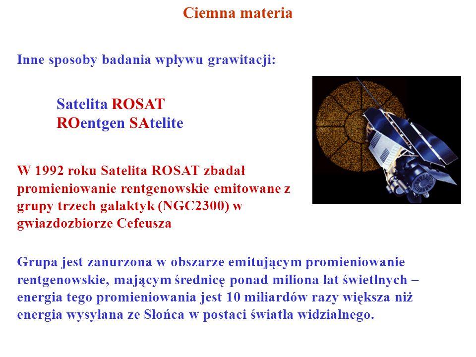 Satelita ROSAT ROentgen SAtelite