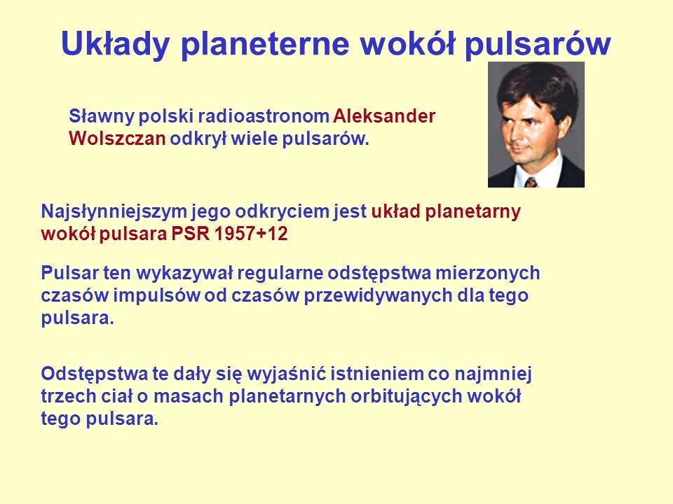 Układy planeterne wokół pulsarów
