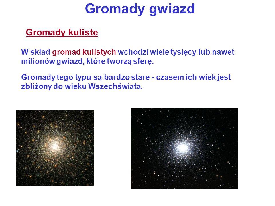 Gromady gwiazd Gromady kuliste