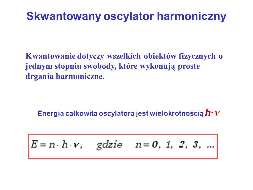 Skwantowany oscylator harmoniczny
