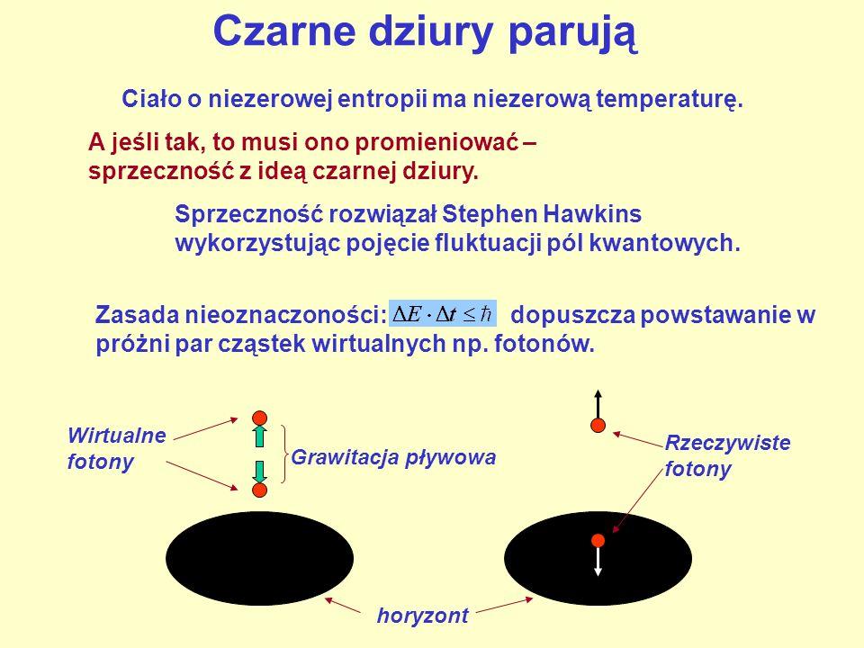 Ciało o niezerowej entropii ma niezerową temperaturę.
