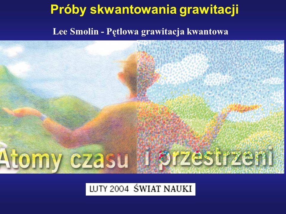 Próby skwantowania grawitacji Lee Smolin - Pętlowa grawitacja kwantowa