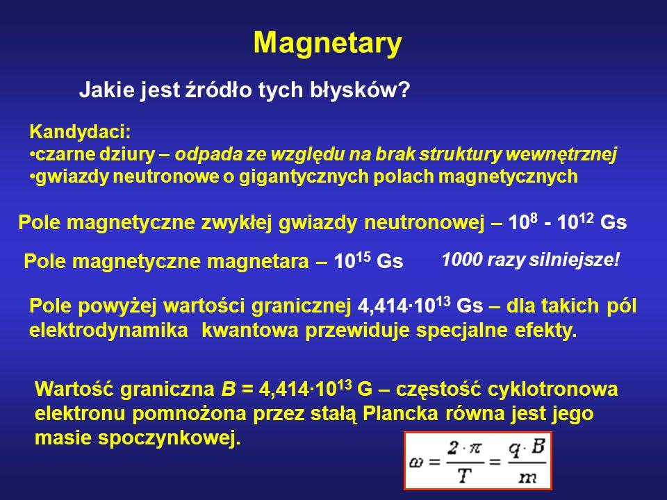 Magnetary Jakie jest źródło tych błysków
