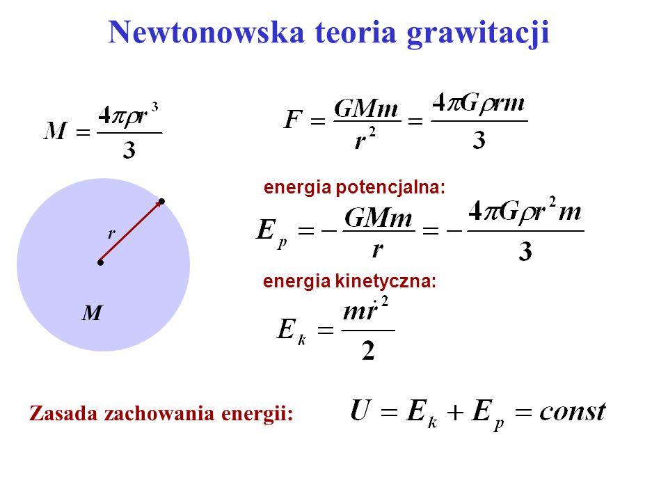 Newtonowska teoria grawitacji
