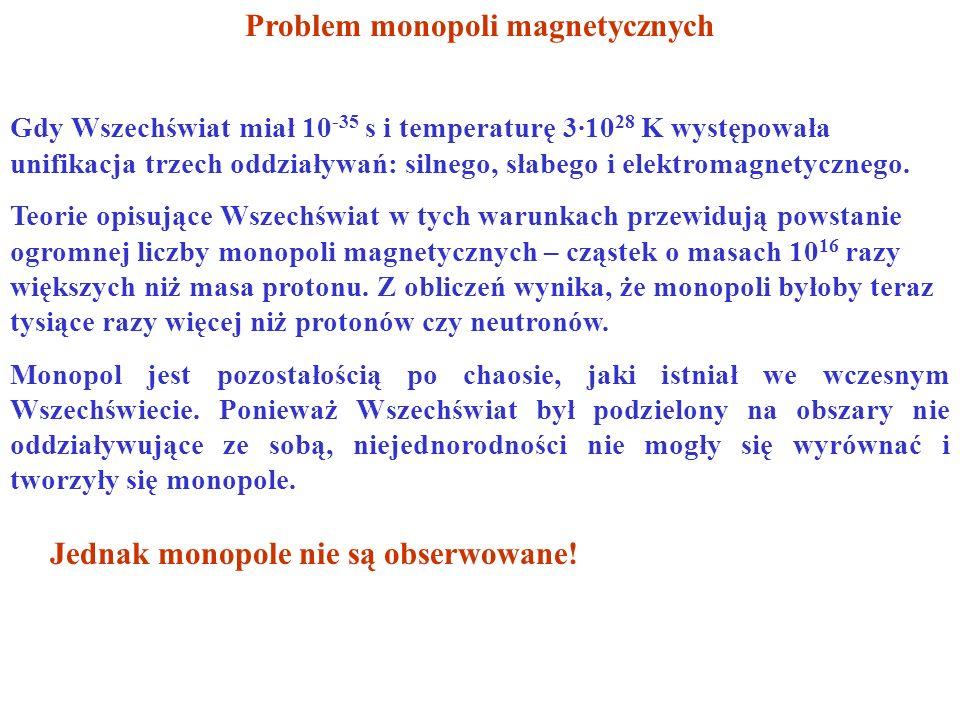 Problem monopoli magnetycznych