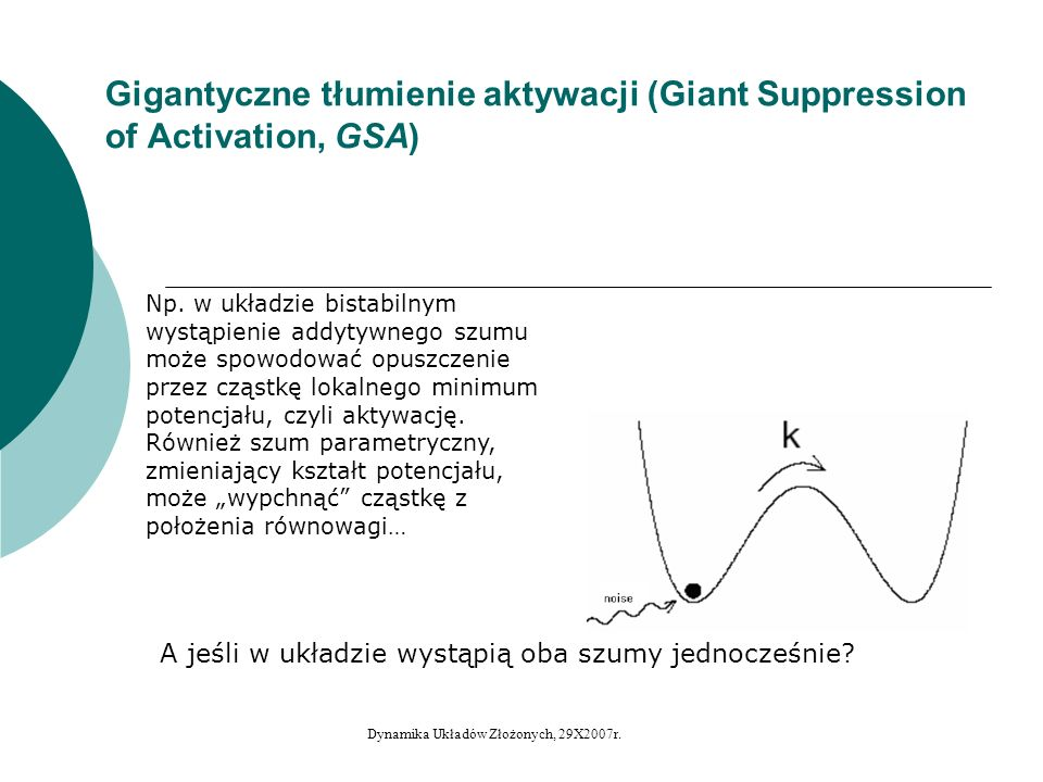 Gigantyczne tłumienie aktywacji (Giant Suppression of Activation, GSA)