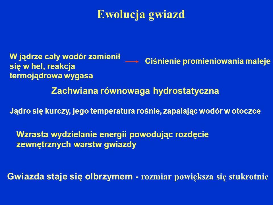 Zachwiana równowaga hydrostatyczna