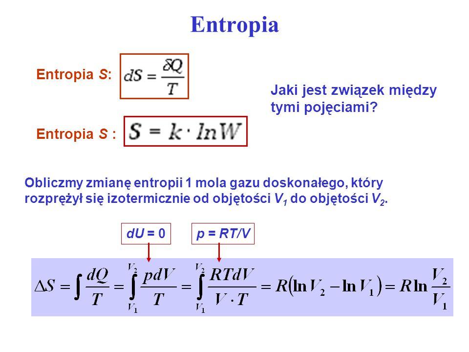 Entropia Entropia S: Jaki jest związek między tymi pojęciami