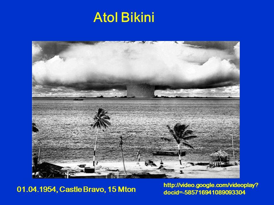 Atol Bikini 01.04.1954, Castle Bravo, 15 Mton