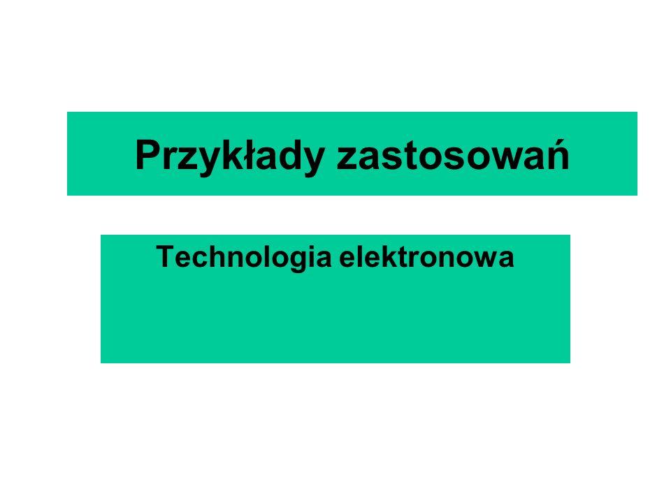 Technologia elektronowa