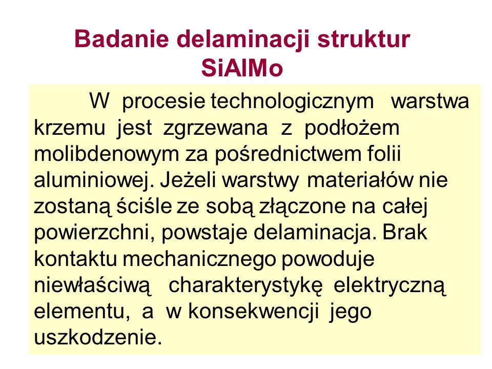 Badanie delaminacji struktur SiAlMo