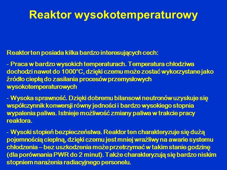 Reaktor wysokotemperaturowy