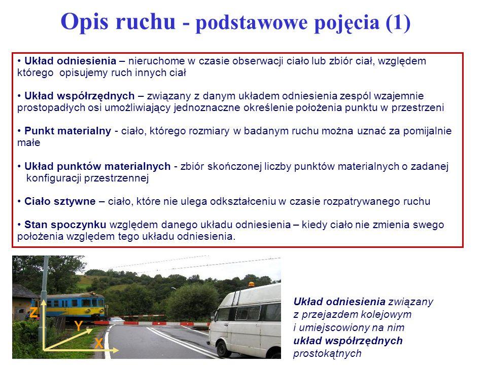 Opis ruchu - podstawowe pojęcia (1)