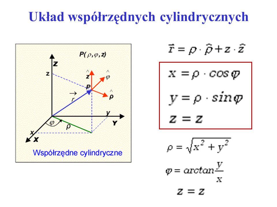 Układ współrzędnych cylindrycznych
