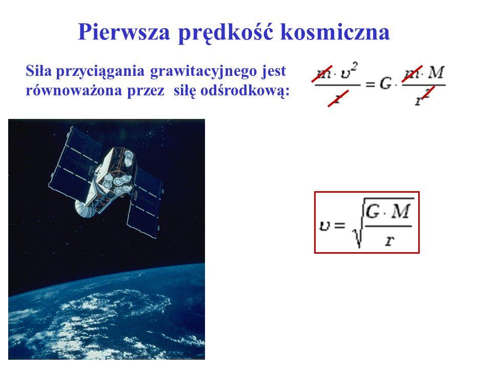 Pierwsza prędkość kosmiczna