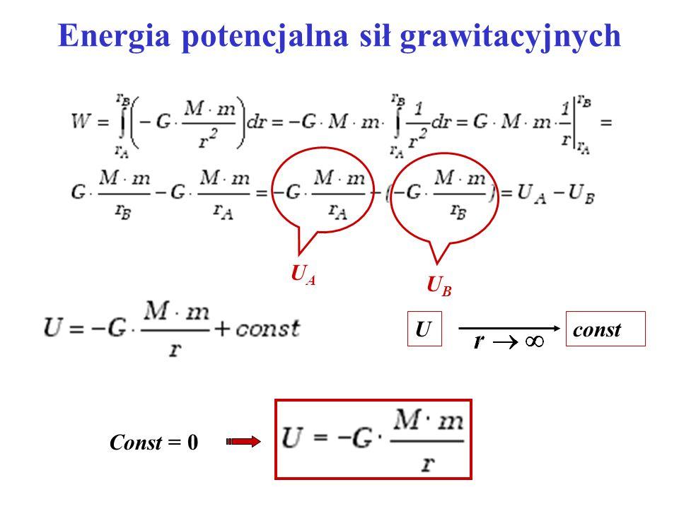 Energia potencjalna sił grawitacyjnych
