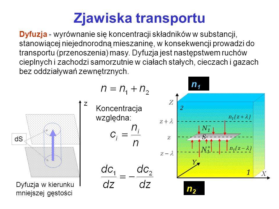 Zjawiska transportu n1 n2