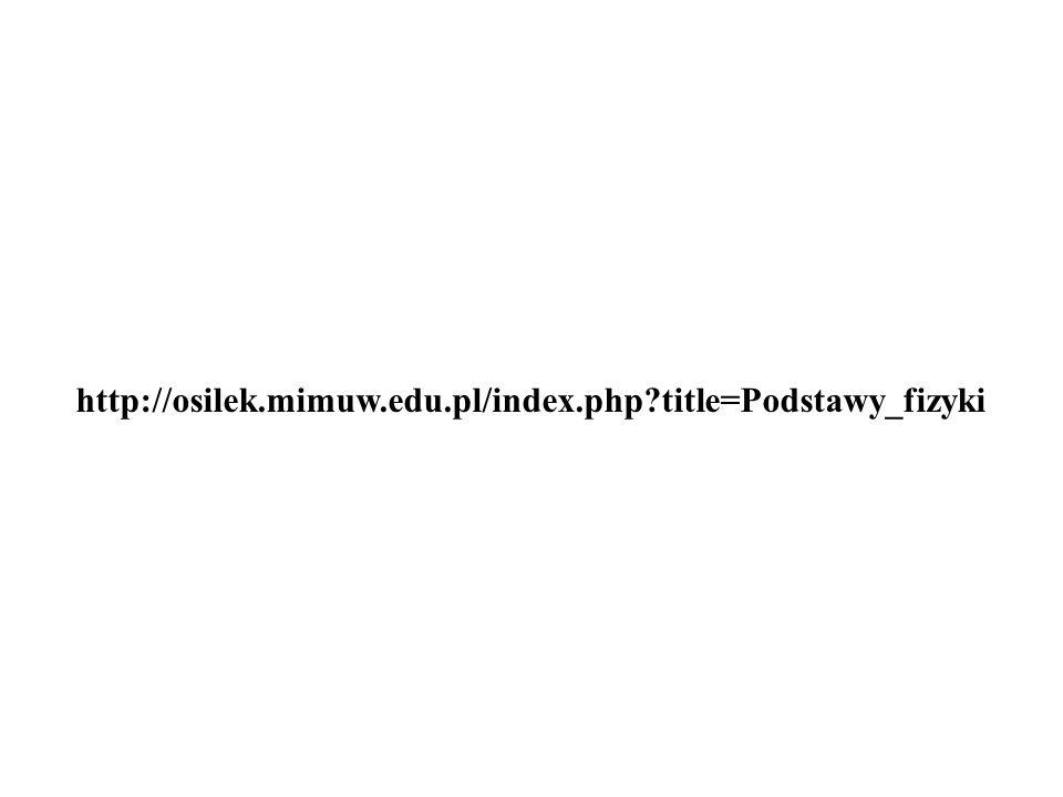 http://osilek.mimuw.edu.pl/index.php title=Podstawy_fizyki
