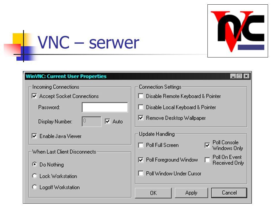 VNC – serwer