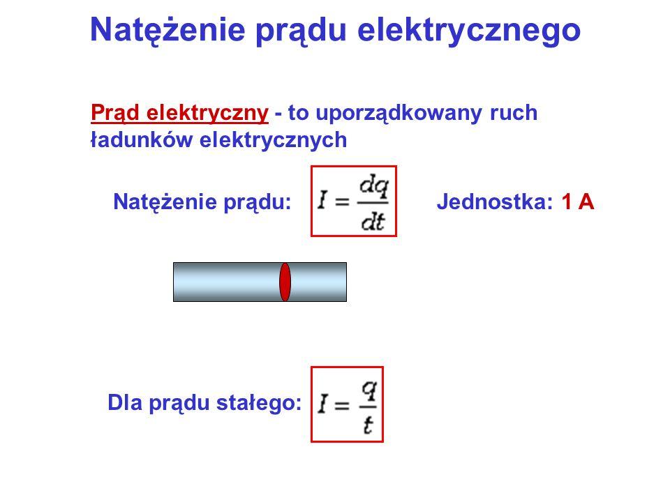 Natężenie prądu elektrycznego