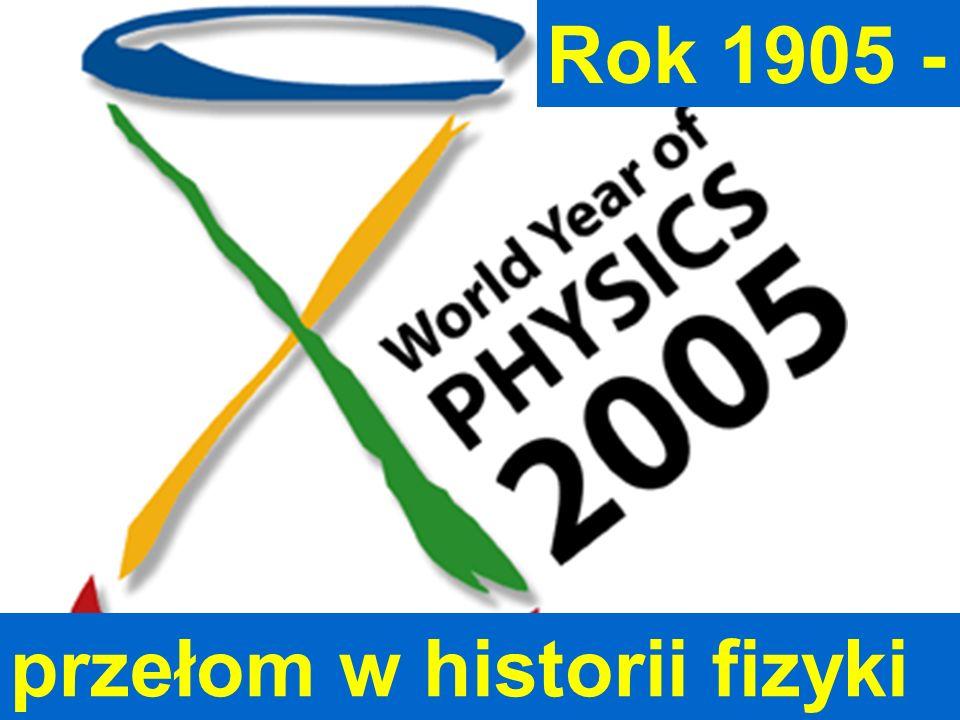 przełom w historii fizyki