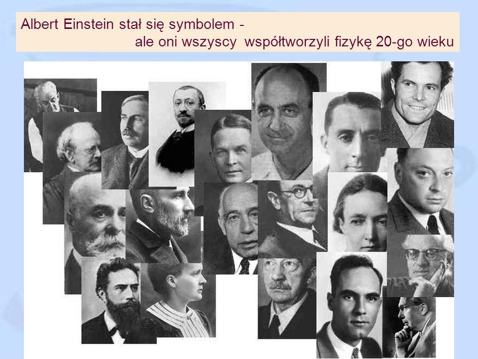 Albert Einstein stał się symbolem -