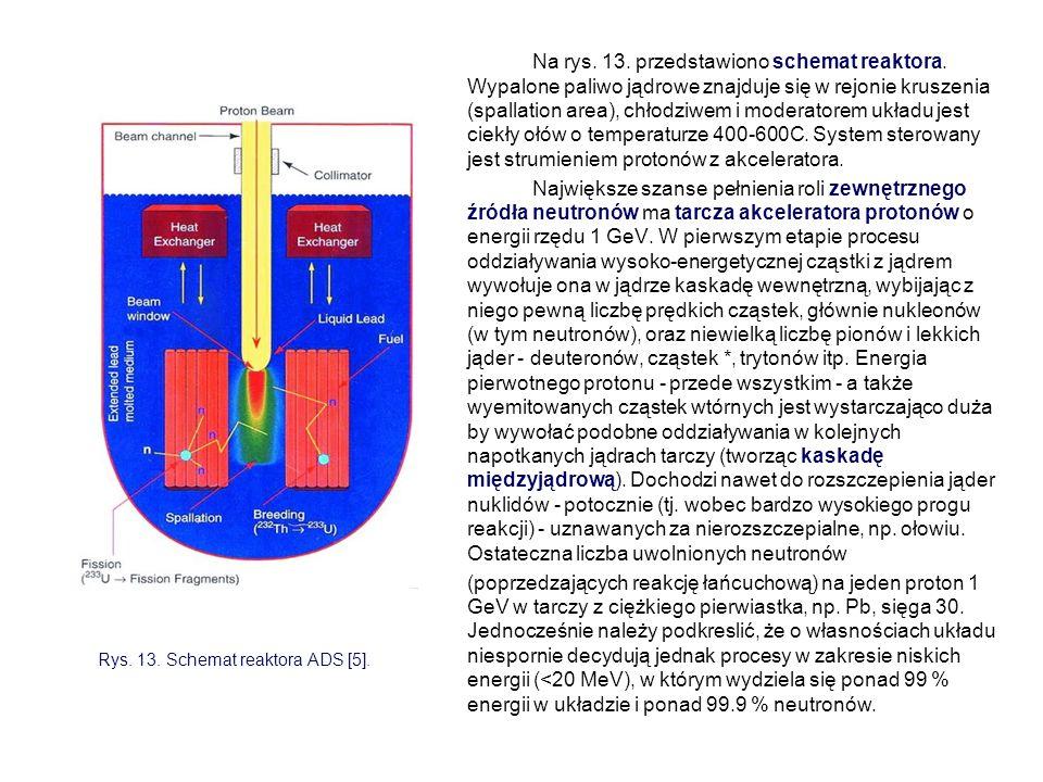 Na rys. 13. przedstawiono schemat reaktora