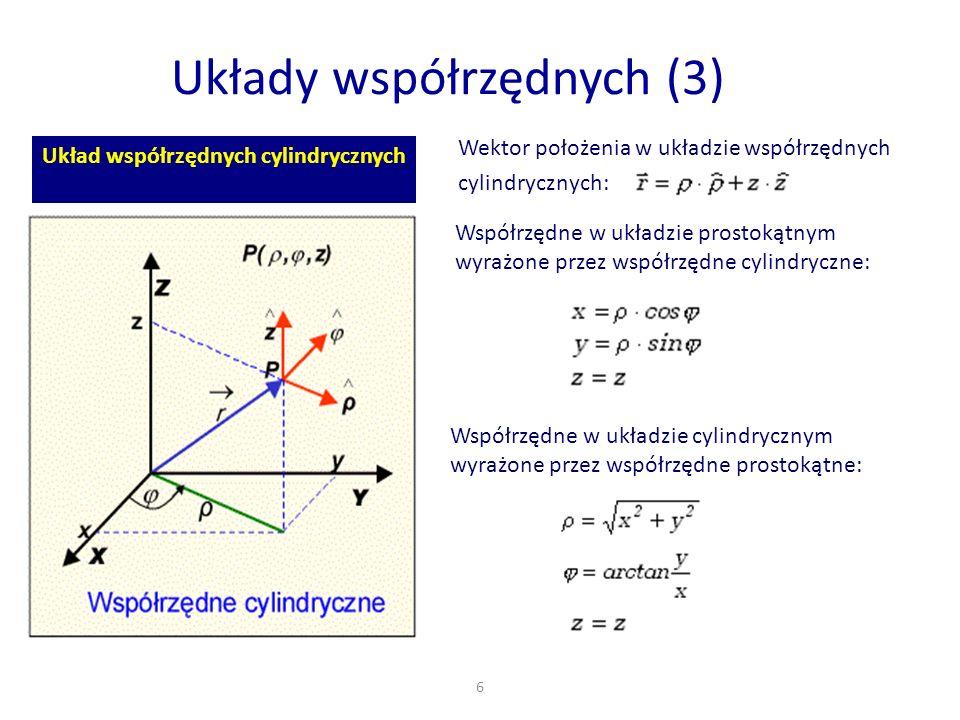 Układy współrzędnych (3)