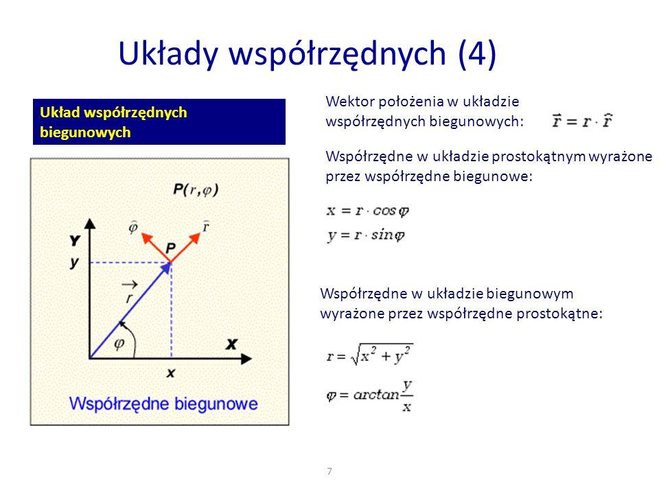 Układy współrzędnych (4)