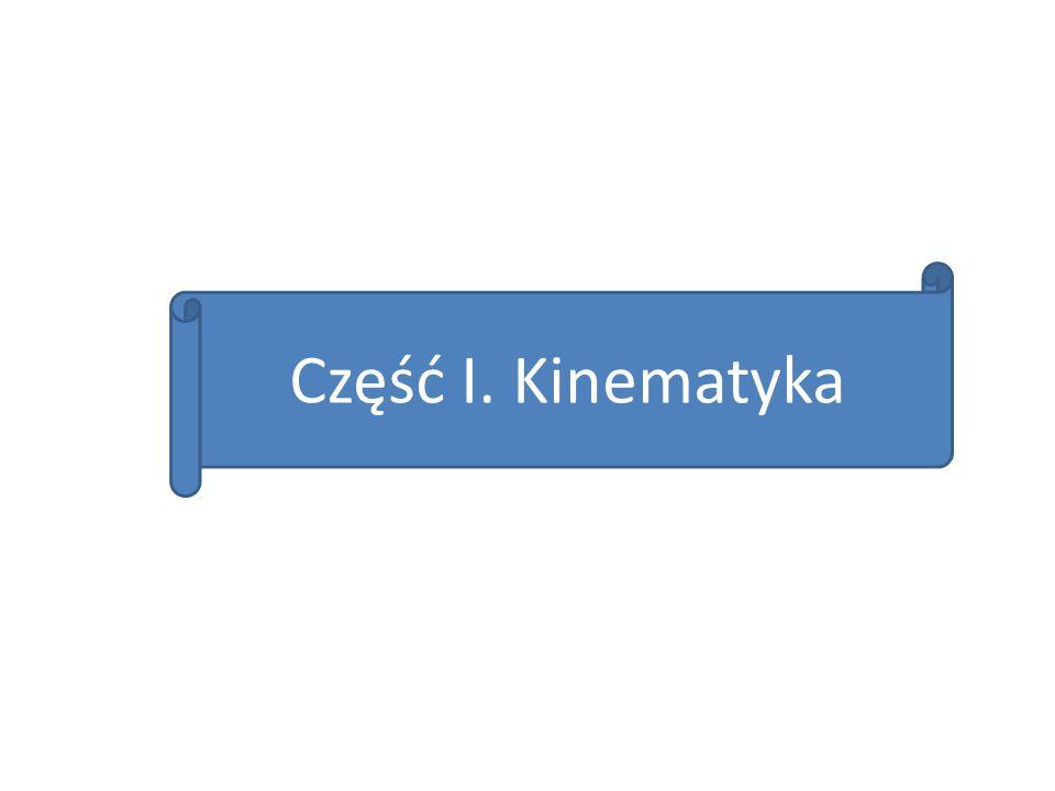 Część I. Kinematyka