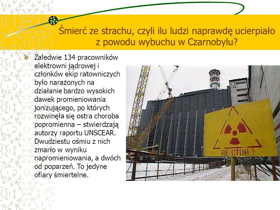 Śmierć ze strachu, czyli ilu ludzi naprawdę ucierpiało z powodu wybuchu w Czarnobylu