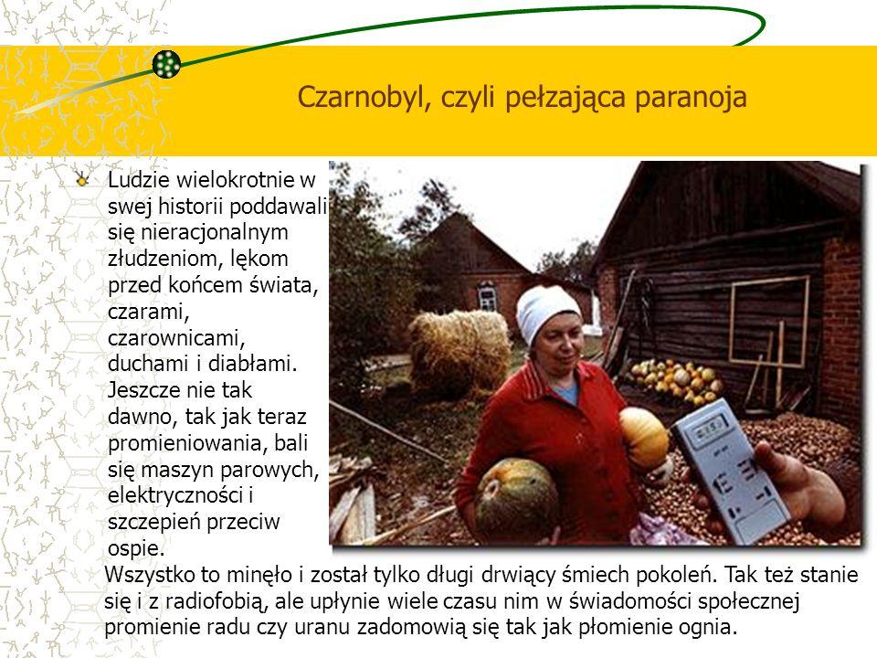 Czarnobyl, czyli pełzająca paranoja