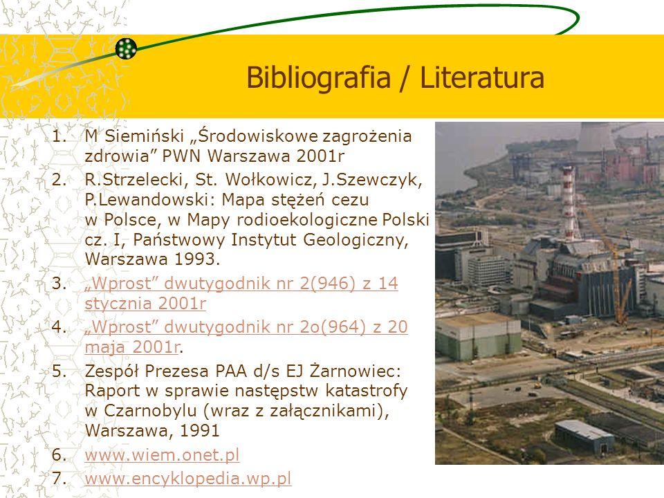 Bibliografia / Literatura