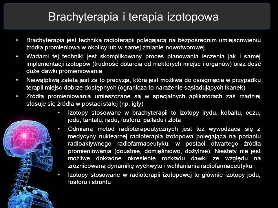 Brachyterapia i terapia izotopowa