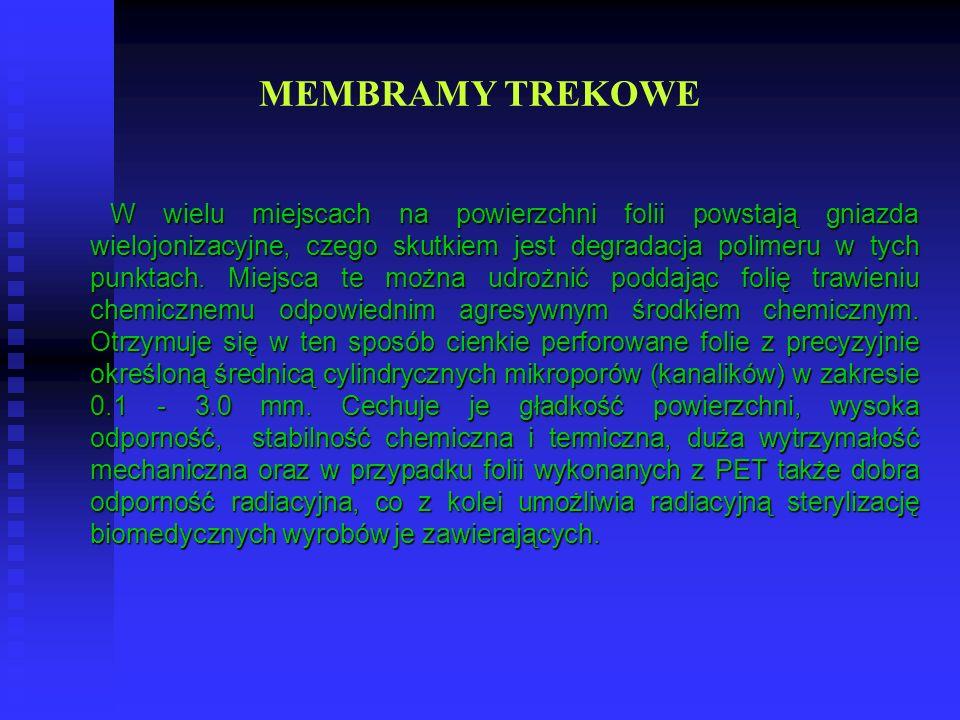MEMBRAMY TREKOWE