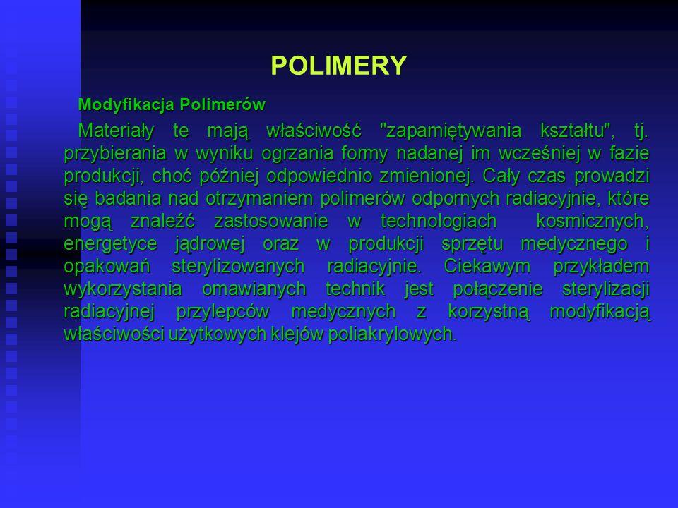 POLIMERY Modyfikacja Polimerów.
