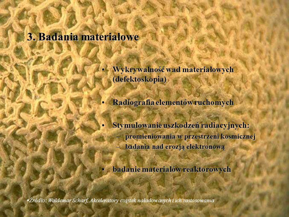 3. Badania materiałowe Wykrywalność wad materiałowych (defektoskopia)