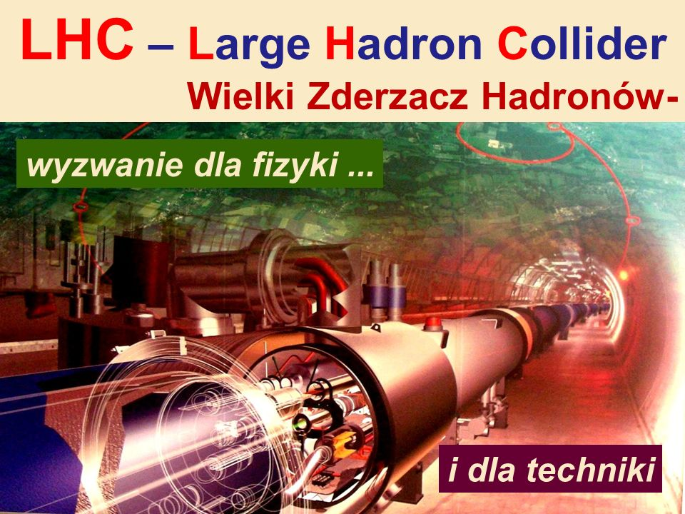 LHC – Large Hadron Collider
