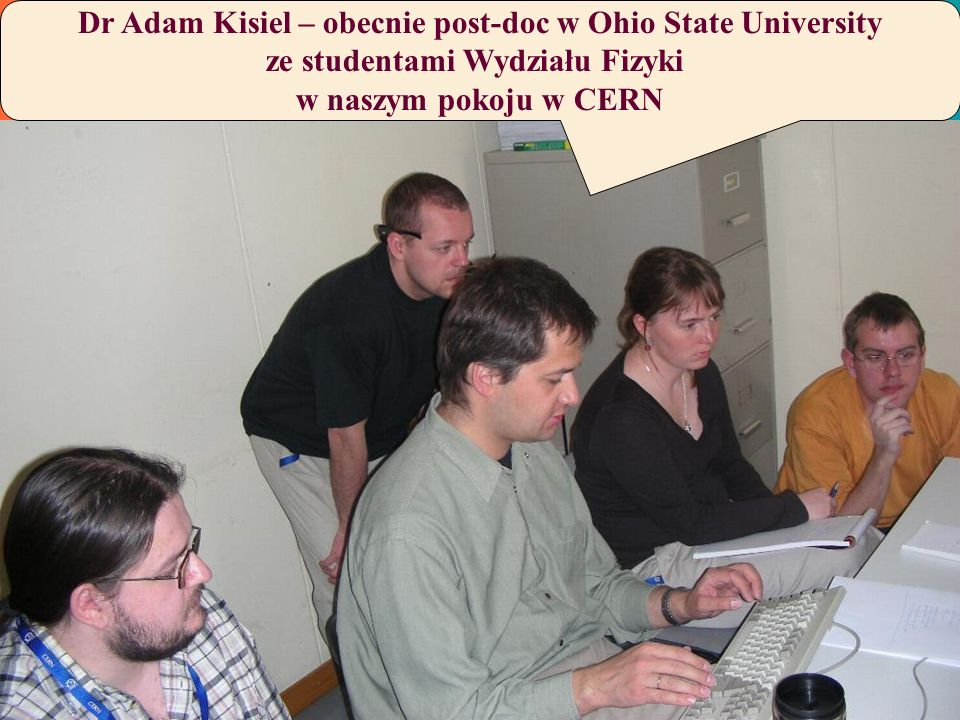 Dr Adam Kisiel – obecnie post-doc w Ohio State University