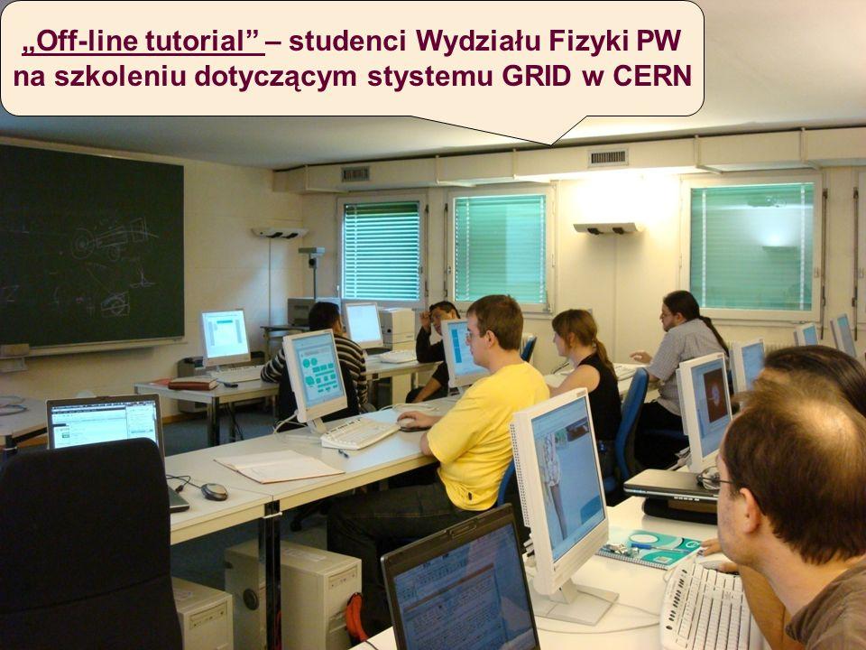 """""""Off-line tutorial – studenci Wydziału Fizyki PW"""