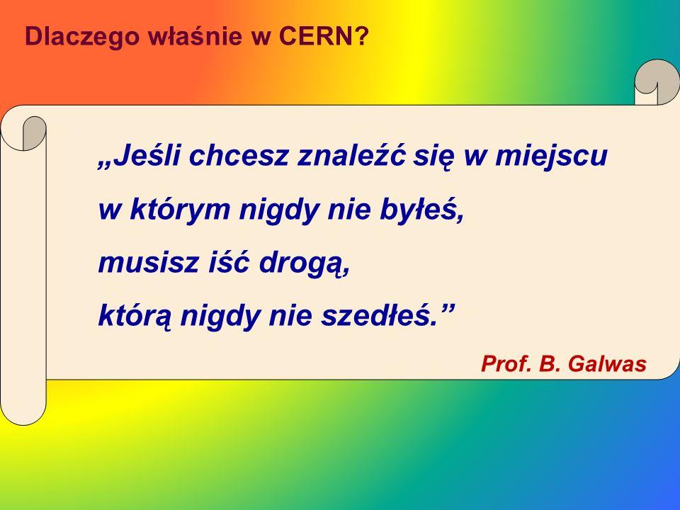 Dlaczego właśnie w CERN