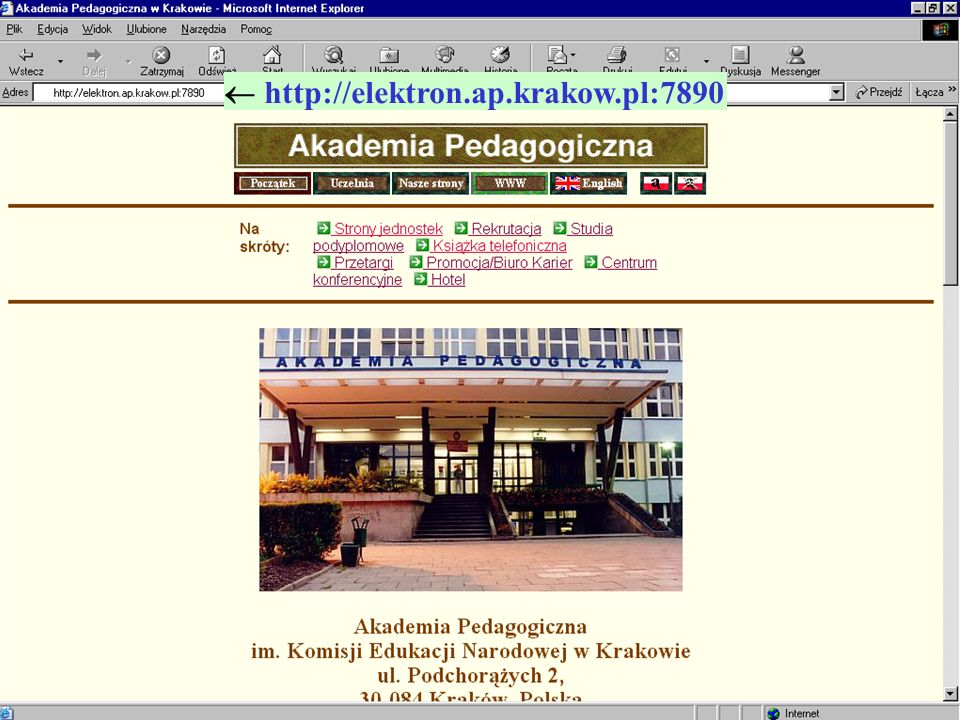  http://elektron.ap.krakow.pl:7890