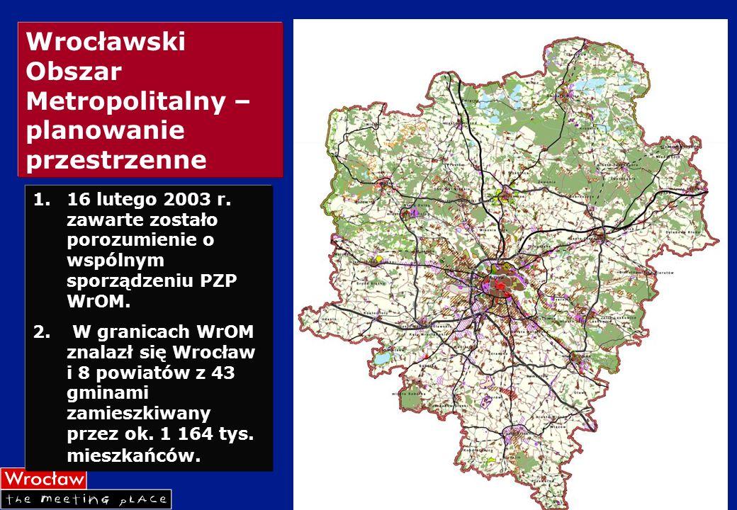 Wrocławski Obszar Metropolitalny –planowanie przestrzenne
