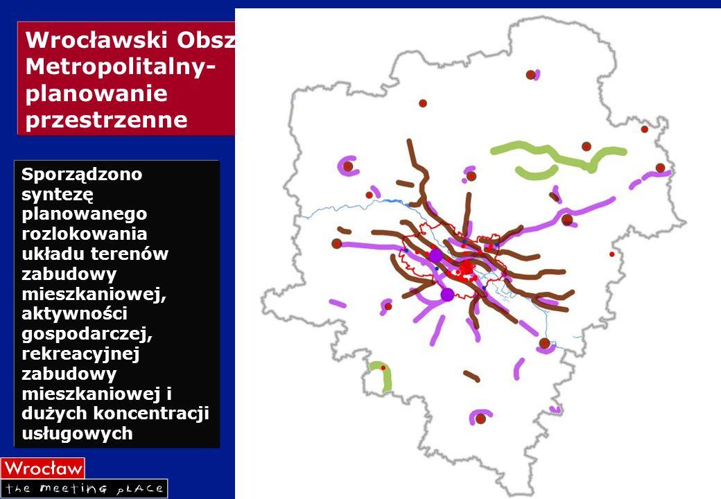 Wrocławski Obszar Metropolitalny- planowanie przestrzenne