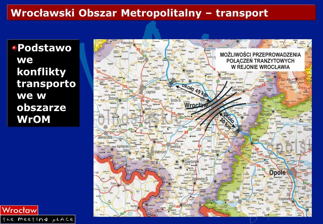 Wrocławski Obszar Metropolitalny – transport