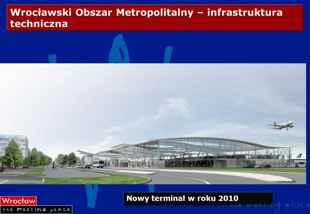Wrocławski Obszar Metropolitalny – infrastruktura techniczna