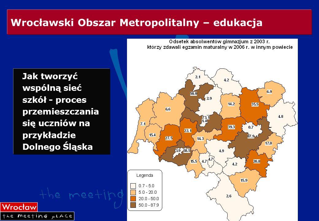 Wrocławski Obszar Metropolitalny – edukacja