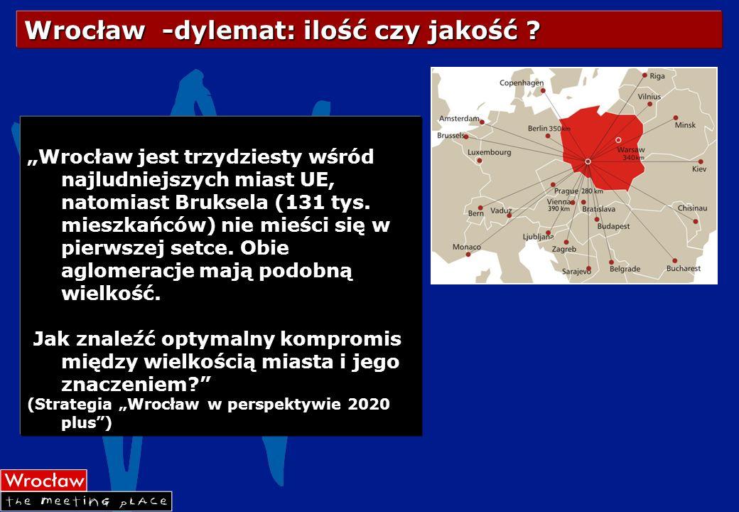 Wrocław -dylemat: ilość czy jakość